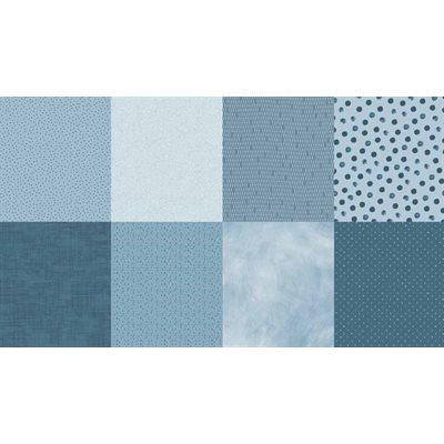 Details Digital Print By Hoffman - Dusty Blue