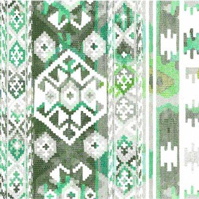 Hummingbird Haven Digital Print By Hoffman - Jade