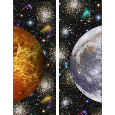 Out Of This World Digital Print By Hoffman - Onyx