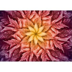 Dream Big Leaf Digital Print By Hoffman - Mulberry