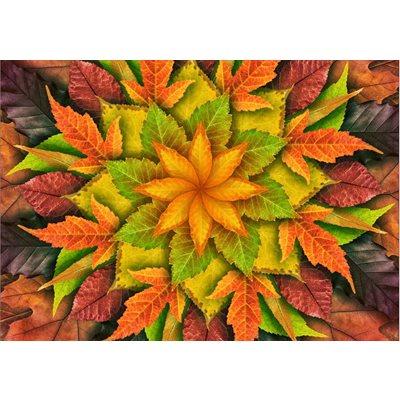 Dream Big Leaf Digital Print By Hoffman - Autumn
