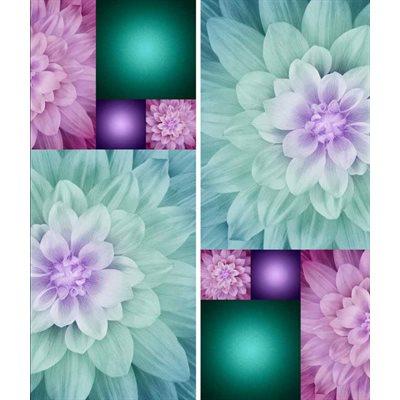 Kablooms Digital Print By Hoffman - Hummingbird