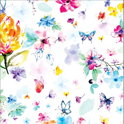 Pretty In Paisley Digital Print By Hoffman - Parfait