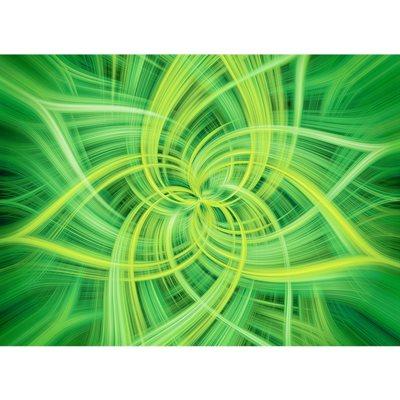 Dream Big Dance Digital Print By Hoffman - Lime
