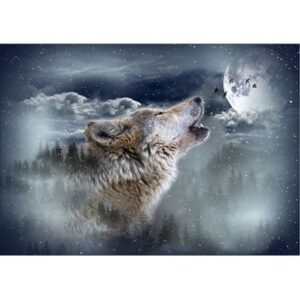 Call Of The Wild Digital Print By Hoffman - Moonstruck