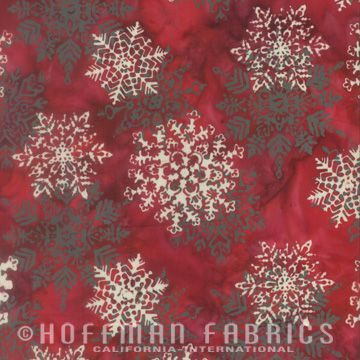 Bali Batiks By Hoffman - Christmas