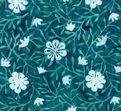 Longitude Rayon Batiks By Kate Spain For Moda - Teal