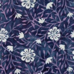 Longitude Rayon Batiks By Kate Spain For Moda - Navy