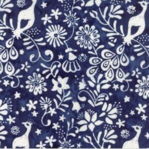 Longitude Rayon Batiks By Kate Spain For Moda - Deep Blue
