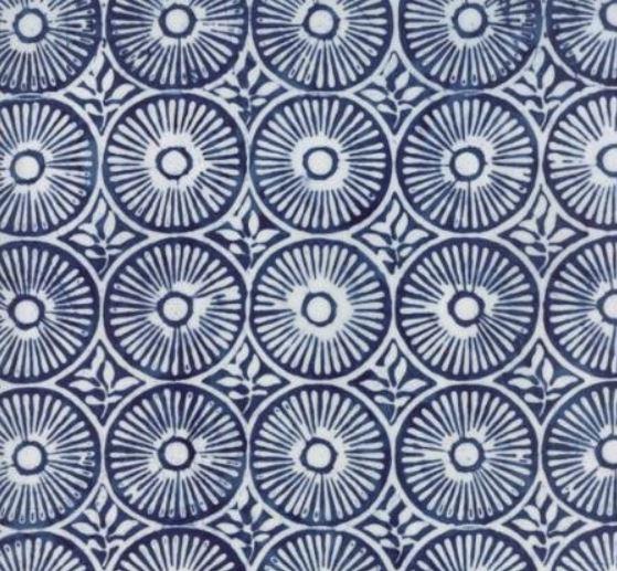 Longitude Rayon Batiks By Kate Spain For Moda - Navy
