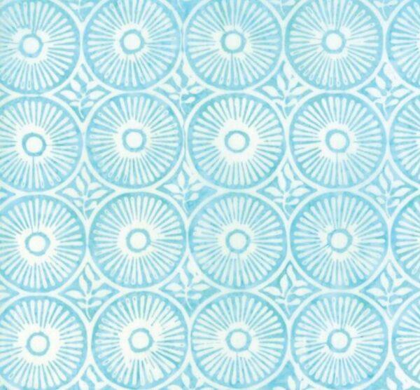 Longitude Rayon Batiks By Kate Spain For Moda - Aqua