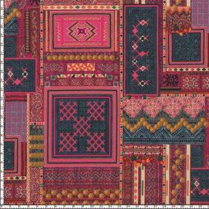 Mandalay By Hoffman - Pomegranate/Gold