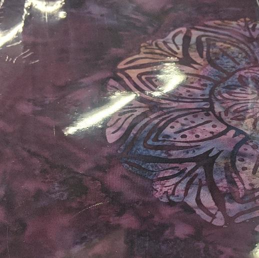 Bali Handpaints By Hoffman - Purple
