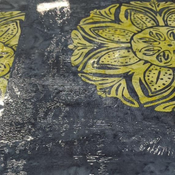 Bali Handpaints By Hoffman - Lime