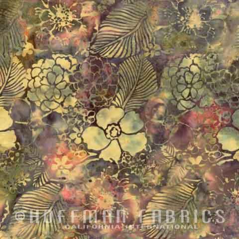 Bali Handpaints By Hoffman - Brown