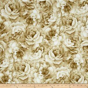 Belleflower By Hoffman - Cream