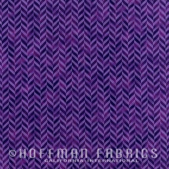 Zig And Zag By Hoffman - Purple