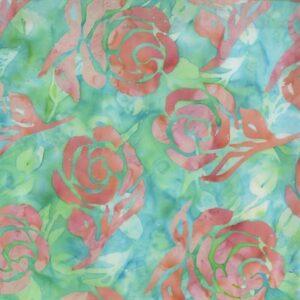 Blossom Batiks Cascade By Flaurie & Finch For Rjr Fabrics