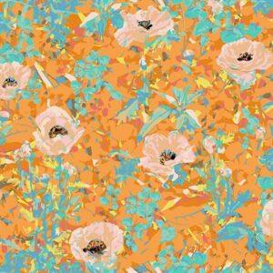 Wild Acres By Victoria Findlay Wolfe For Rjr Fabrics - Orange