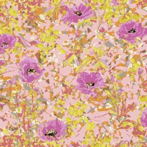 Wild Acres By Victoria Findlay Wolfe For Rjr Fabrics - Pink