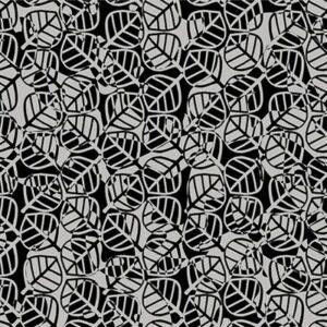 Gray Matter By Rjr Studio For Rjr Fabrics - Gray On Black