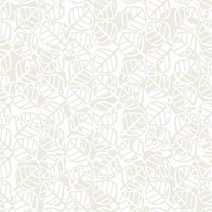 Gray Matter By Rjr Studio For Rjr Fabrics - Ivory On White