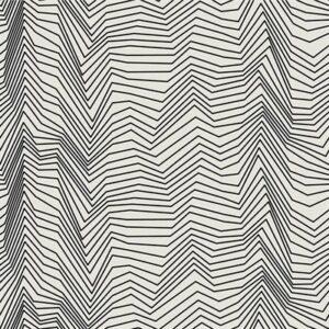 Gray Matter By Rjr Studio For Rjr Fabrics - Black On Ivory