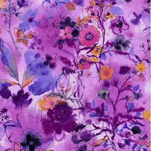 Bloom Bloom Butterfly By Rjr Studio For Rjr Fabrics - Orchid