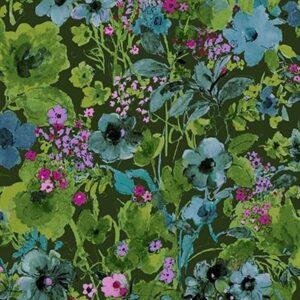 Bloom Bloom Butterfly By Rjr Studio For Rjr Fabrics - Forest