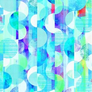 Geometry Digiprint By Rjr Studio For Rjr Fabrics - Sky