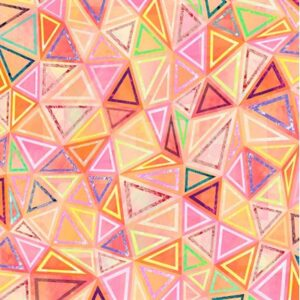 Geometry Digiprint By Rjr Studio For Rjr Fabrics - Orange