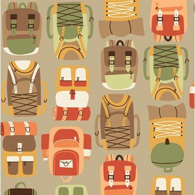 Camping Crew By Rjr Studio For Rjr Fabrics - Bark
