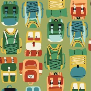 Camping Crew By Rjr Studio For Rjr Fabrics - Fern