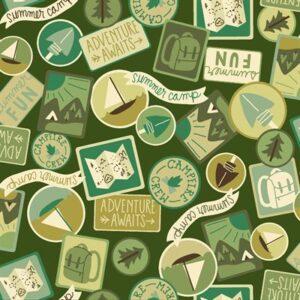 Camping Crew By Rjr Studio For Rjr Fabrics - Moss