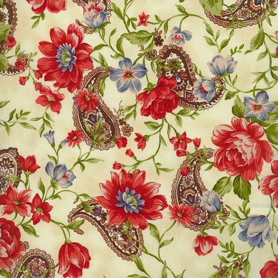 Heart And Home By Yuko Hasegawa For Rjr Fabrics - Cream