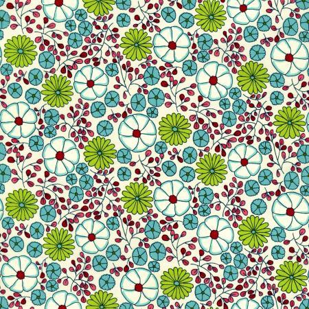 Vintage Made Modern Stitcher's Garden By Indygo Junction For Rjr Fabrics