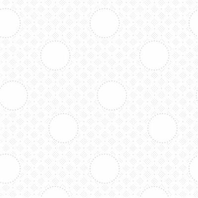 Bare Essentials Deluxe By Rjr Studio For Rjr Fabrics - White On White