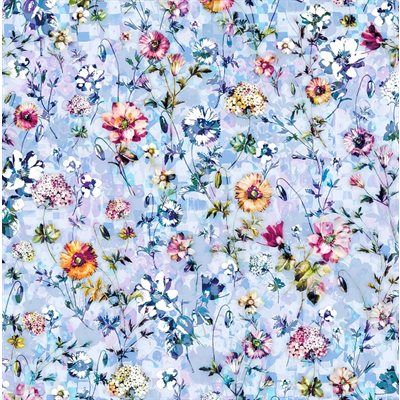 Fleur Couture Digital Print By Rjr Studio For Rjr Fabrics - Chambray