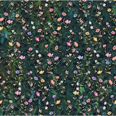 Fleur Couture Digital Print By Rjr Studio For Rjr Fabrics - Midnight