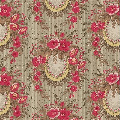 Family Roots By Legacy Paterns Co. For Rjr Fabrics - Cherry