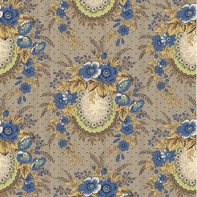 Family Roots By Legacy Paterns Co. For Rjr Fabrics - Dusty Blue