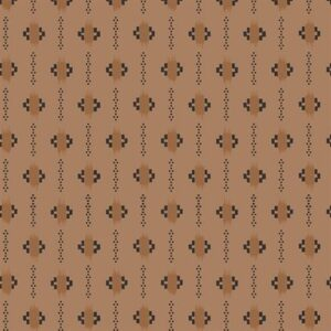 Family Roots By Legacy Paterns Co. For Rjr Fabrics - Brown Sugar