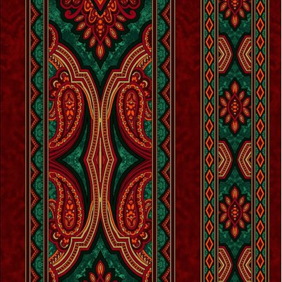 Holiday Aruba By Jinny Beyer For Rjr Fabrics - Red