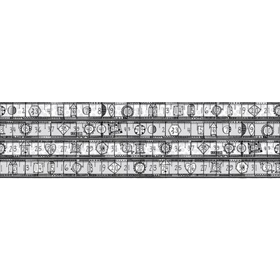 Heavy On The Metal By Jamie Fingal For Rjr Fabrics - Silver - Metallic