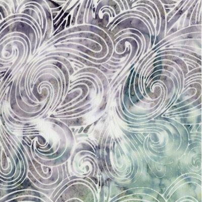 Malam Batiks Vi Lights & Brights By Jinny Beyer For Rjr Fabrics - Granite