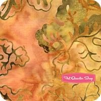 Over The Rainbow Batiks By Moda - Orange Twist