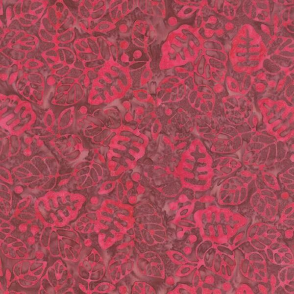 Color Daze Batiks By Laundry Basket - Bleeding Heart