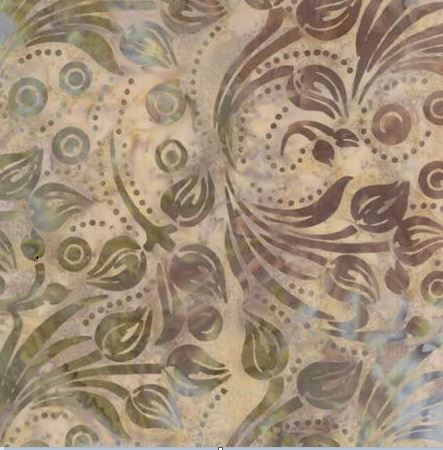 Southern Exposure Batiks By Laundry Basket - Sand
