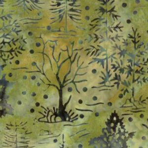 Bear Creek Batiks By Moda - Moss