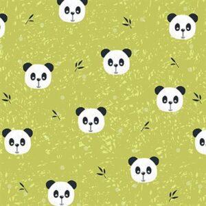 Pretty Panda By Stof - Lime